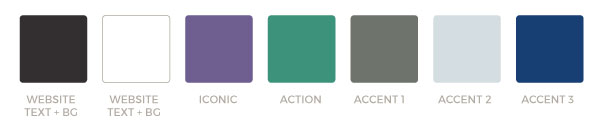 The DNA of a branding color palette