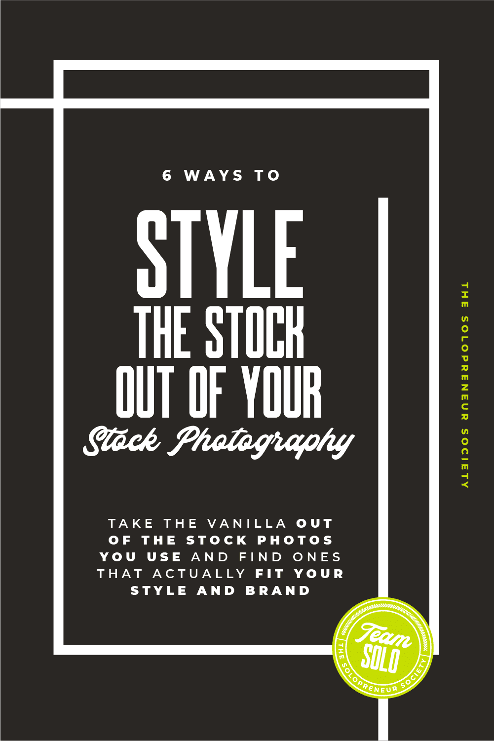 """6 Ways To Style The """"Stock"""" Out Of Your Stock Photography"""