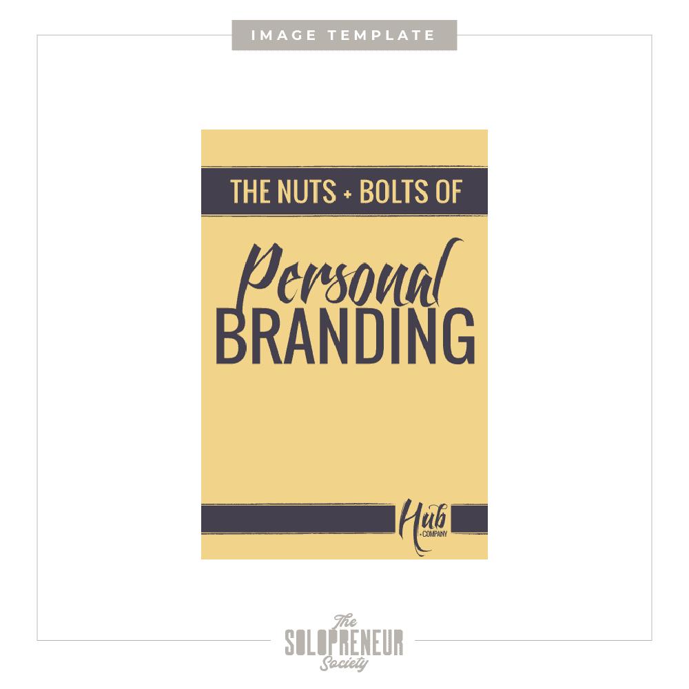 Hub + Company Brand Identity Image Template