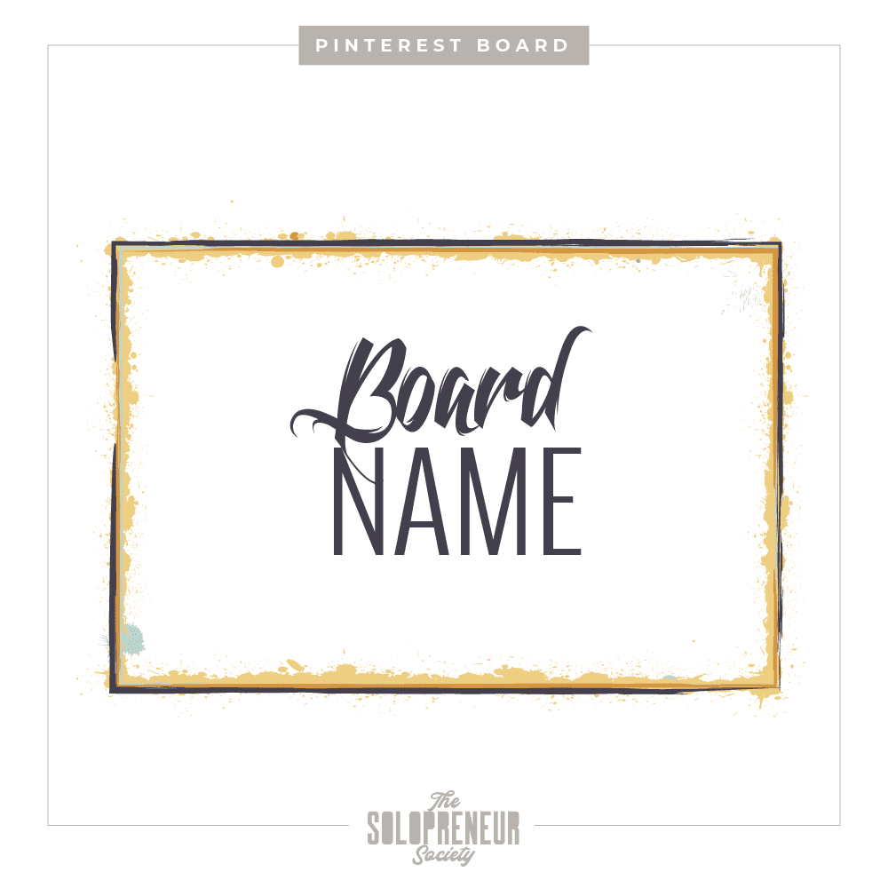 Hub + Company Brand Identity Pinterest Board Covers