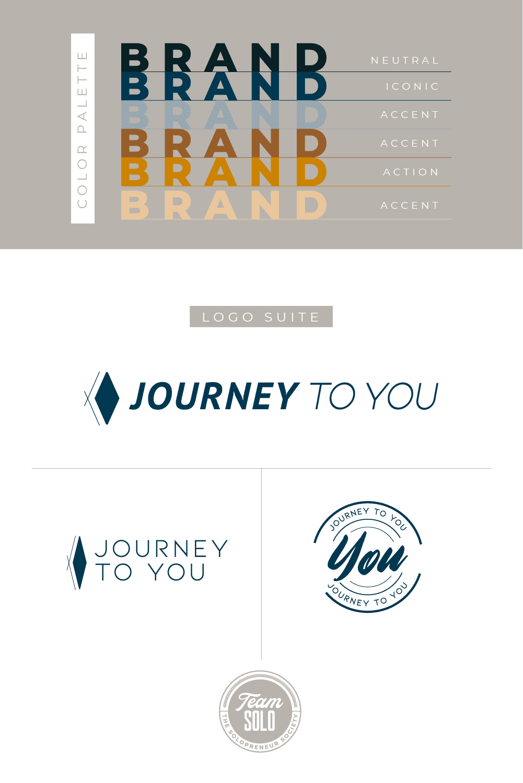 Journey To You Brand Identity Design