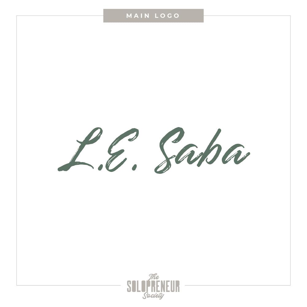 LE Saba Brand Identity Logo Design