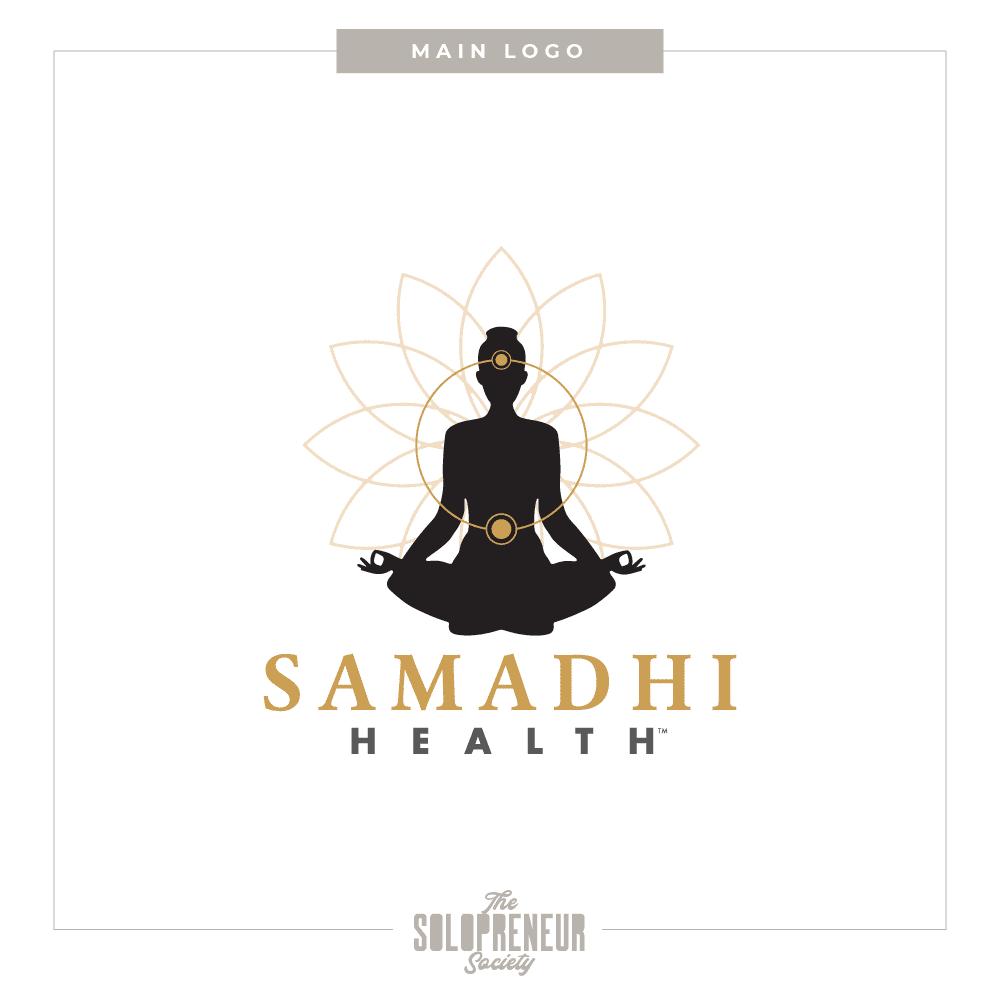 Samadhi Health Brand Identity Main Logo