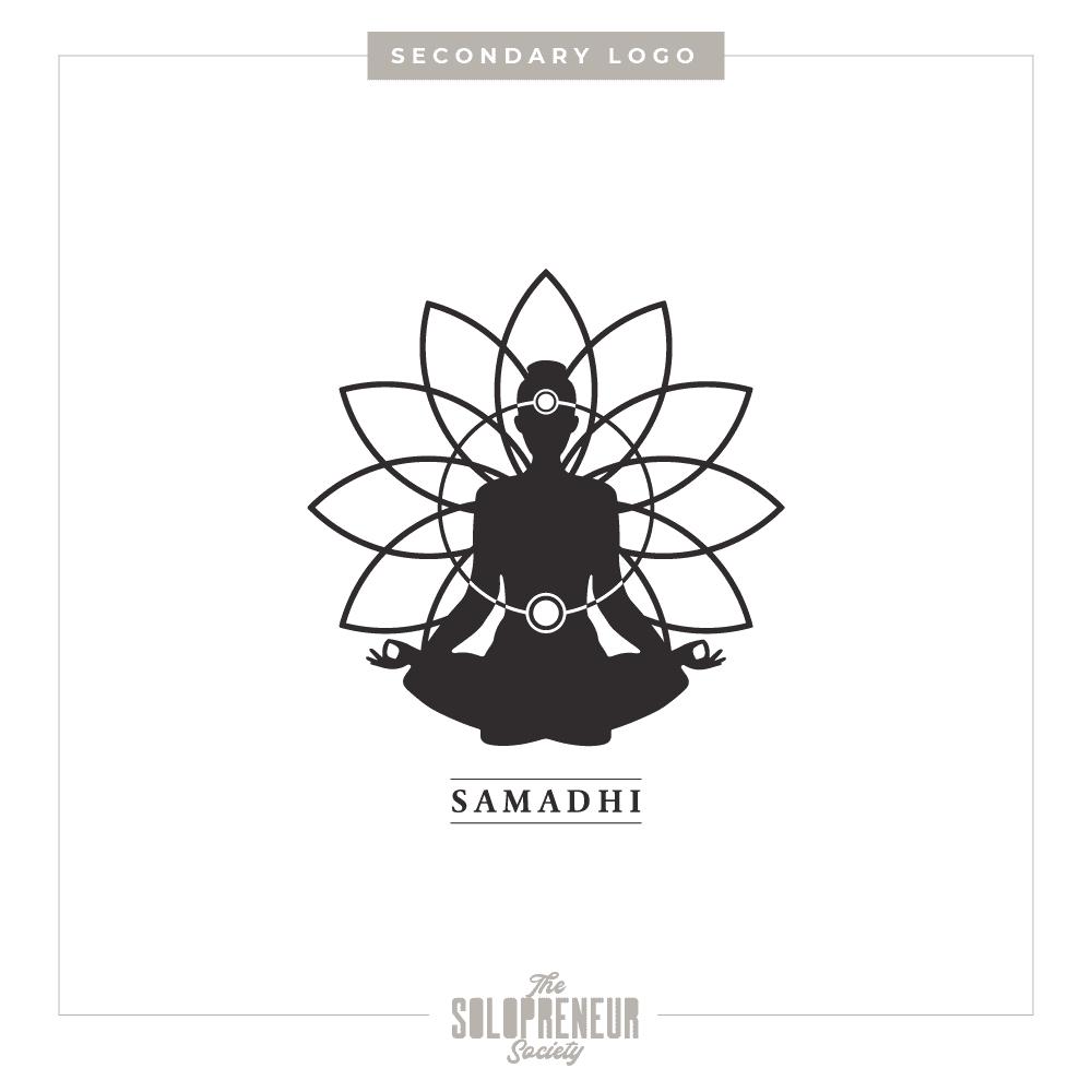 Samadhi Health Brand Identity Secondary Logo