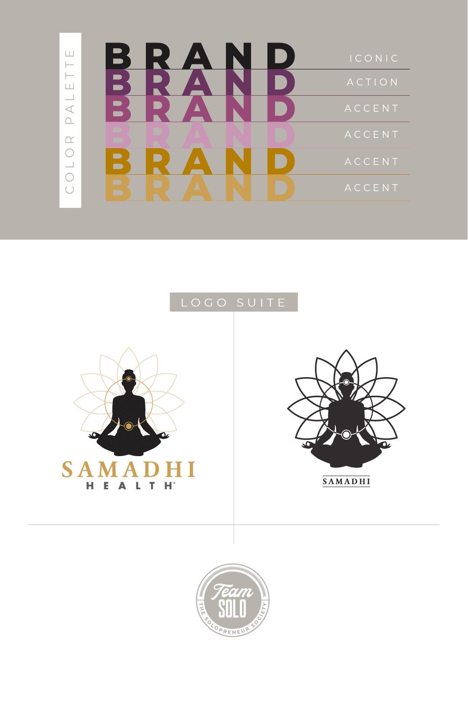 Samadhi Health Brand Identity Design
