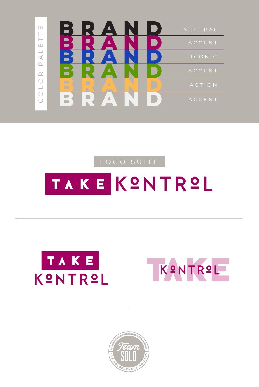Take Kontrol Brand Identity Design