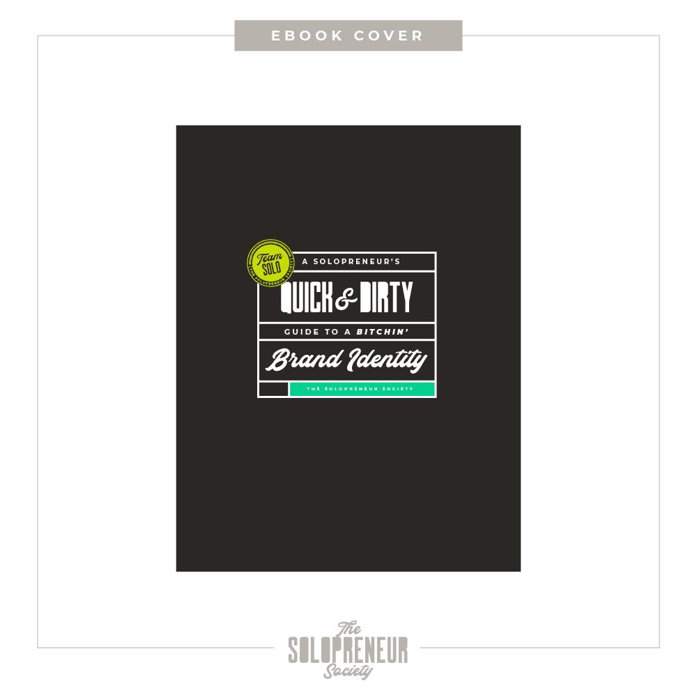 The Solopreneur Society Brand Identity Ebook Cover