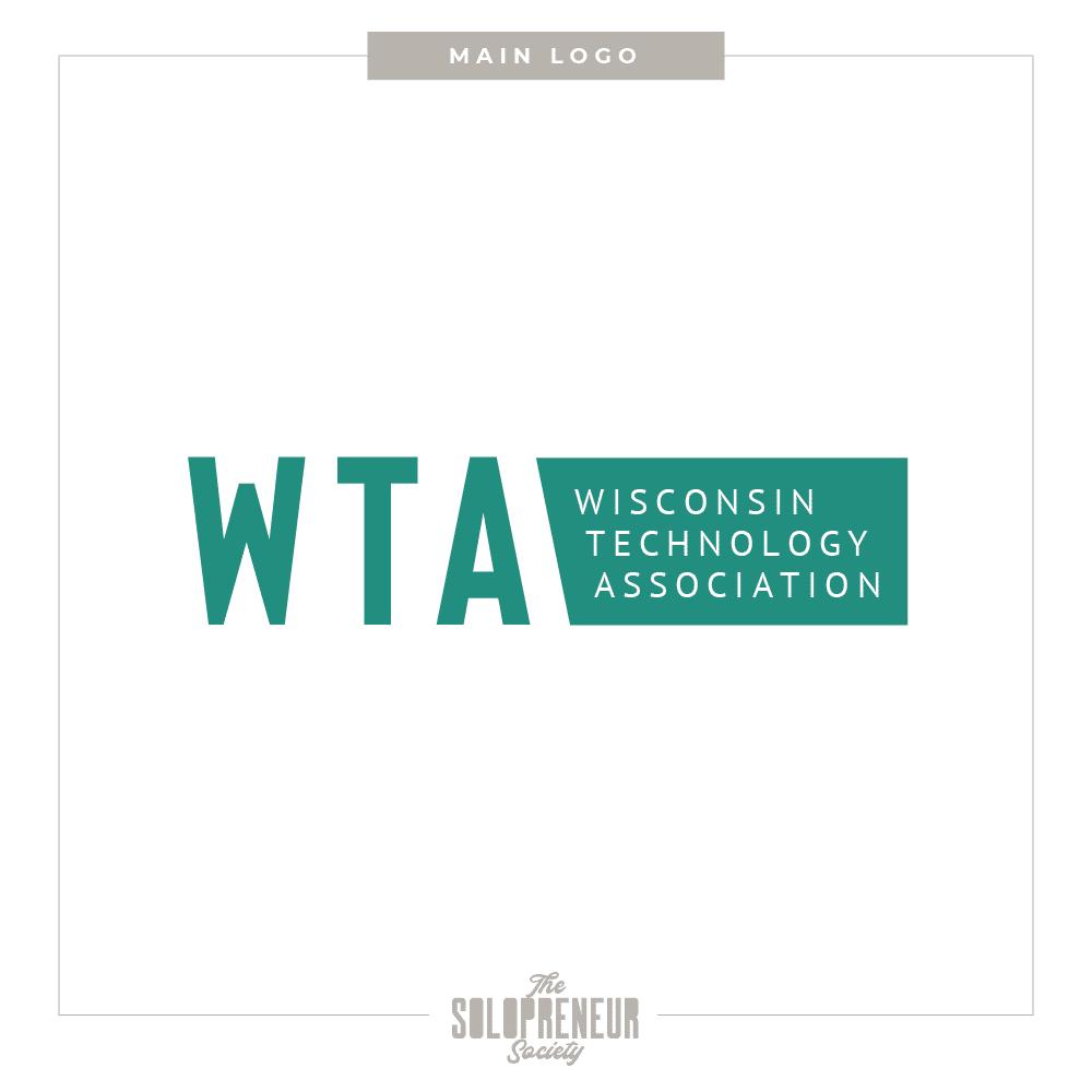 WTA Brand Identity Main Logo