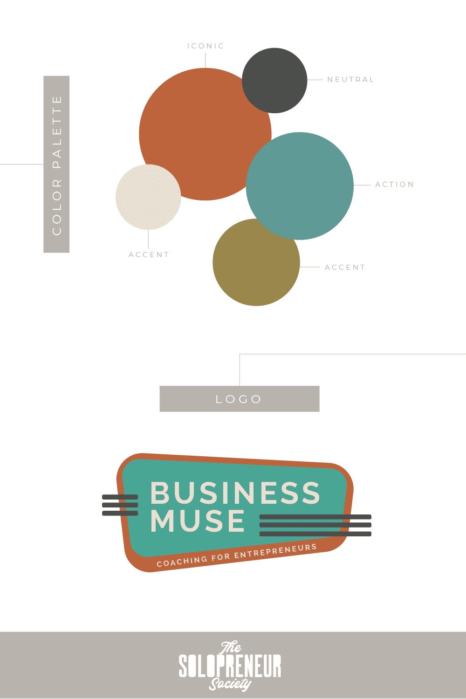 Business Muse Brand Identity Design