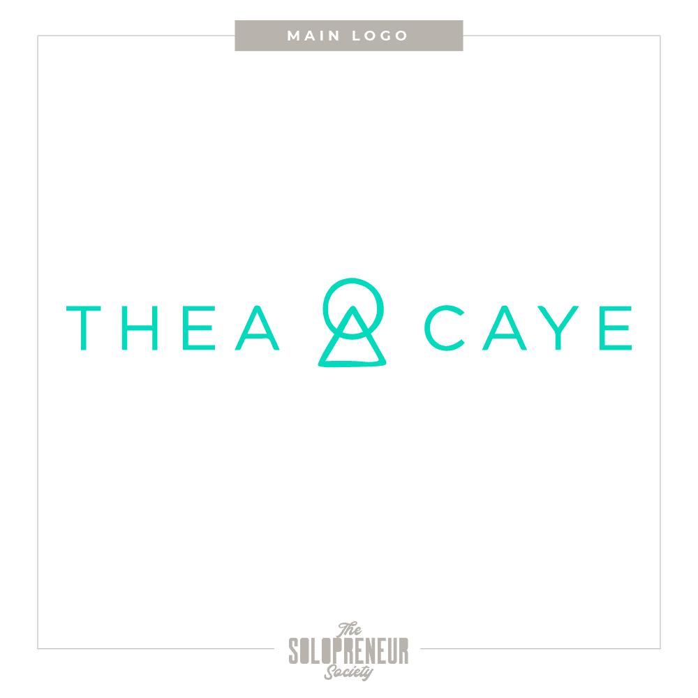 Thea Caye Main Logo