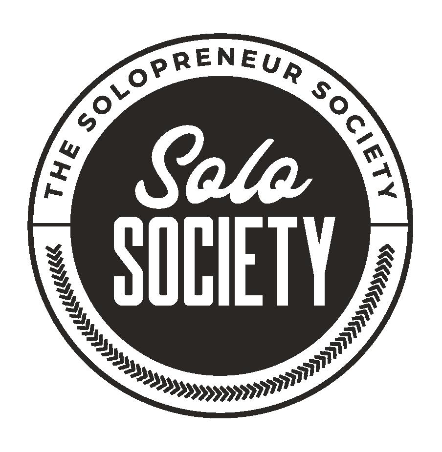 The Solopreneur Society Submark - Black