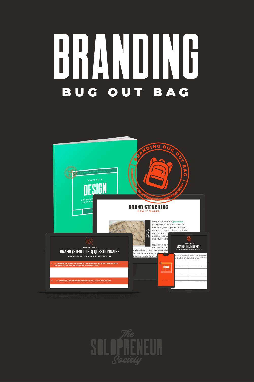 Branding Bug Out Bag For Solopreneurs